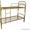 кровати одноярусные для пансионатов, кровати металлические двухъярусные оптом - Изображение #4, Объявление #701264