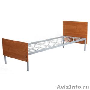 кровати одноярусные для пансионатов, кровати металлические двухъярусные оптом - Изображение #7, Объявление #701264