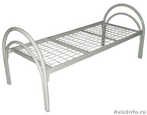 кровати металлические кровати двухъярусные для строителей, кровати для санатория - Изображение #2, Объявление #899152