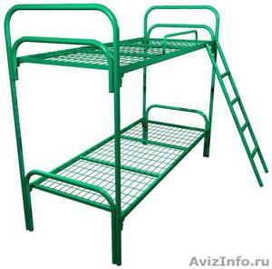 кровати металлические кровати двухъярусные для строителей, кровати для санатория - Изображение #6, Объявление #899152