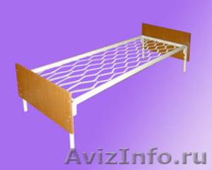 кровати металлические кровати двухъярусные для строителей, кровати для санатория - Изображение #4, Объявление #899152