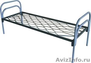 кровати металлические кровати двухъярусные для строителей, кровати для санатория - Изображение #1, Объявление #899152