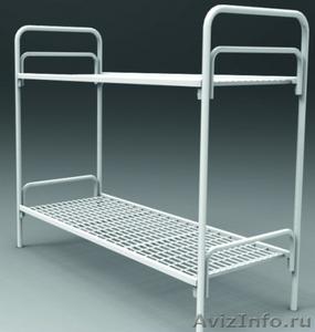Кровати одноярусные для бытовок, кровати металлические для казарм, дёшево - Изображение #9, Объявление #1478866