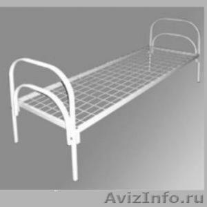 Кровати трёхъярусные для времянок, кровати металлические двухъярусные дёшево - Изображение #2, Объявление #1479841