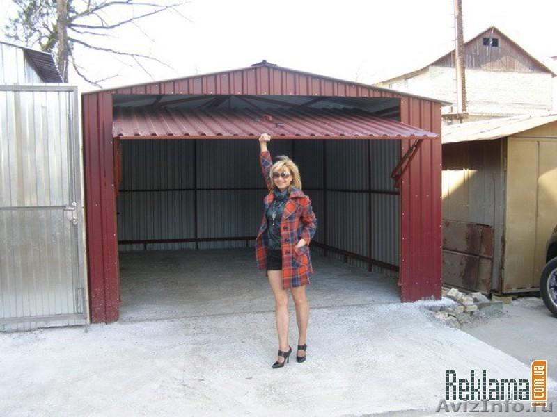 Будівництво гаража фото.