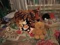 Мяхкая игрушка тигр и тд.