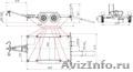 Прицеп для мини техники,  катка,  экскаватора,  погрузчика,  и т.д. до 4 тонн