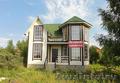 Новый загородный дом с эркером в экологически чистом месте