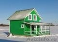 Новый красивый теплый дом с просторной верандой,  рядом с озером Плещеево