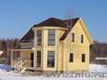 Новый теплый дом с коммуникациями,  рядом с озером Плещеево,  по гарантии