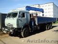 Кран-борт манипулятор Камаз 10 тонн
